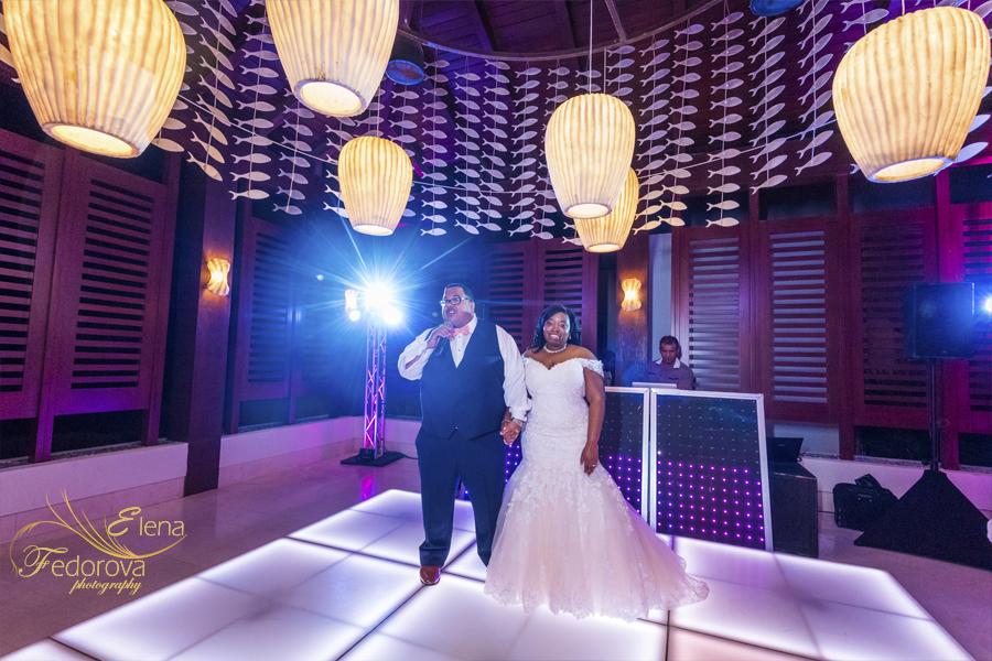 wedding receptions secrets playa mujeres