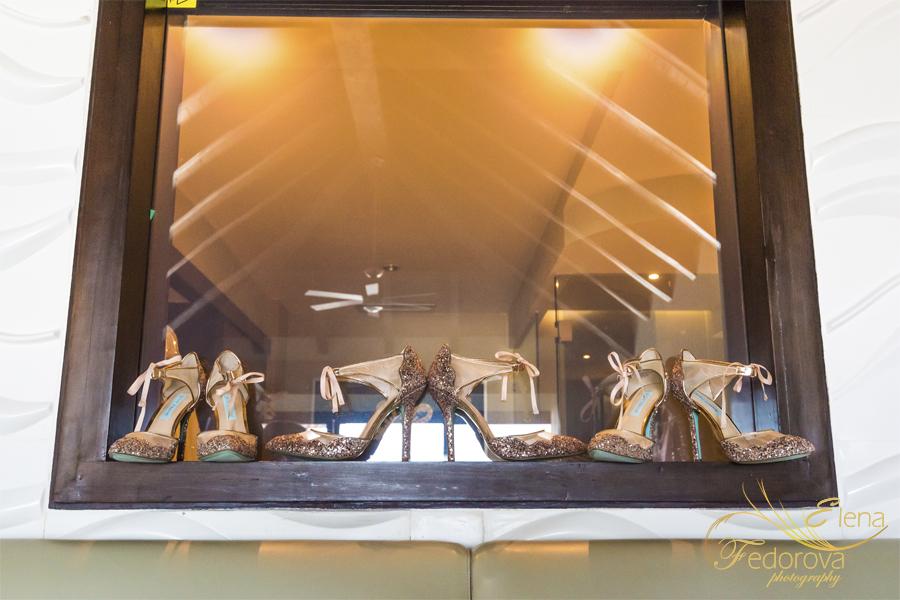 wedding shoes secrets silversand riviera mexico