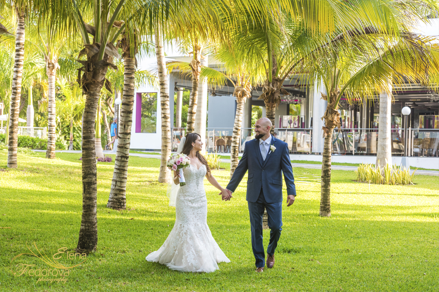wedding at riu yucatan riviera maya