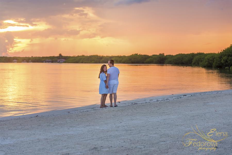 sunset photos nizuc resort