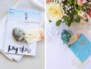 wedding details in riviera maya
