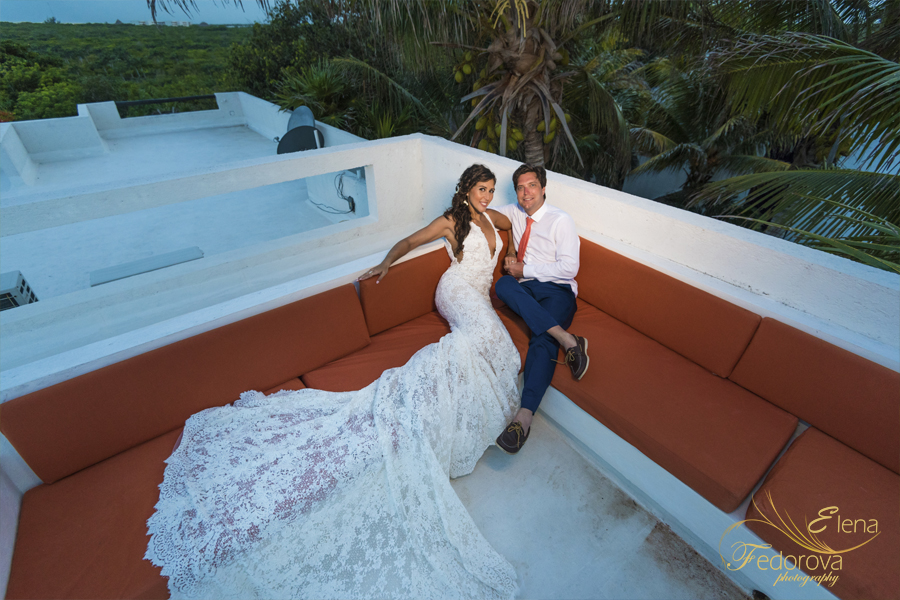 wedding photo shoot in riviera maya