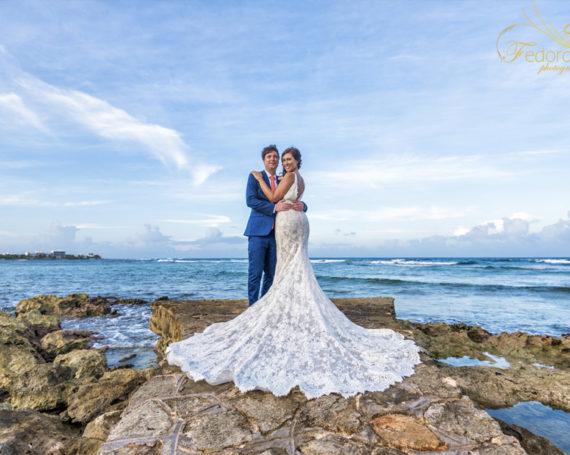 Wedding photographer in Riviera Maya.