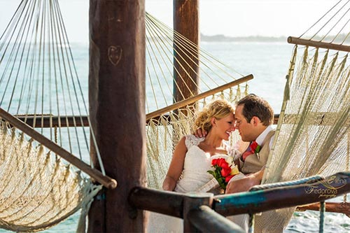 Destination wedding in Grand Oasis Tulum