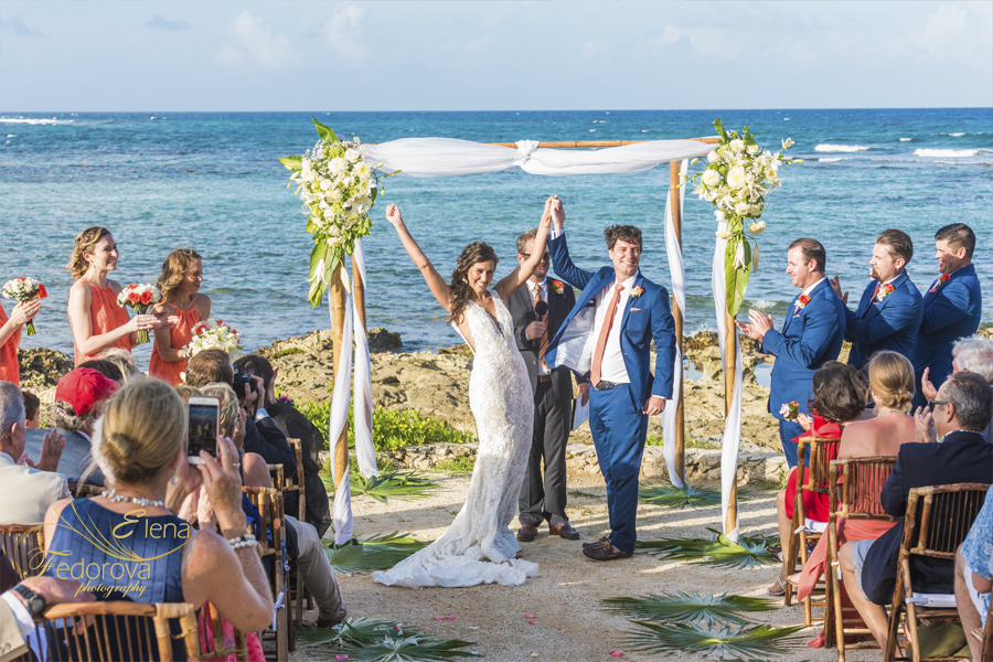 wedding photographers in riviera maya mexico
