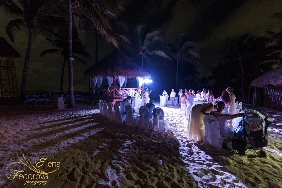 grand riviera princess wedding beach
