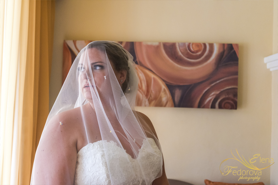 grand riviera princess wedding bride portrait