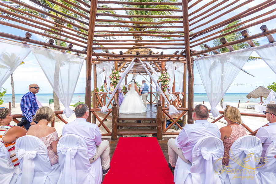 grand riviera princess wedding ceremony