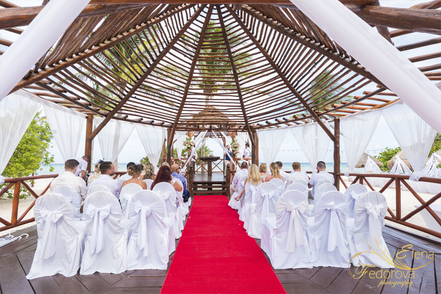 grand riviera princess wedding gazebo