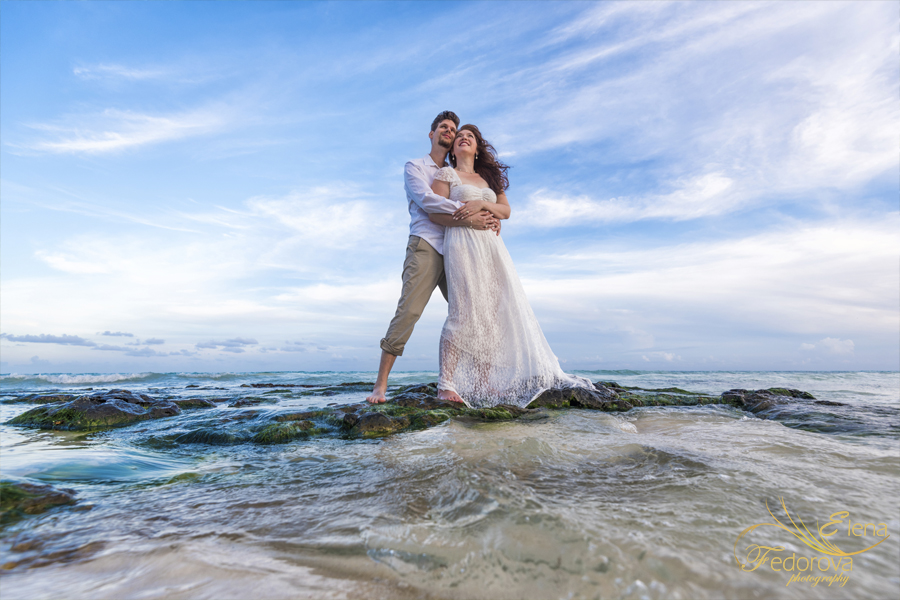 playa del carmen anniversary photo shoot