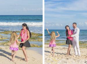 cancun beach family photographers