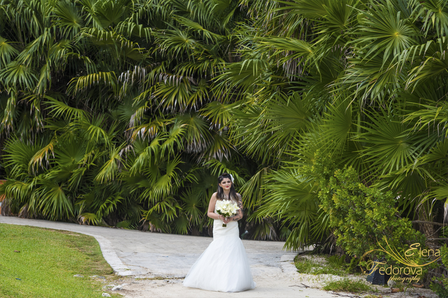 bahia principe mexico weddings bride