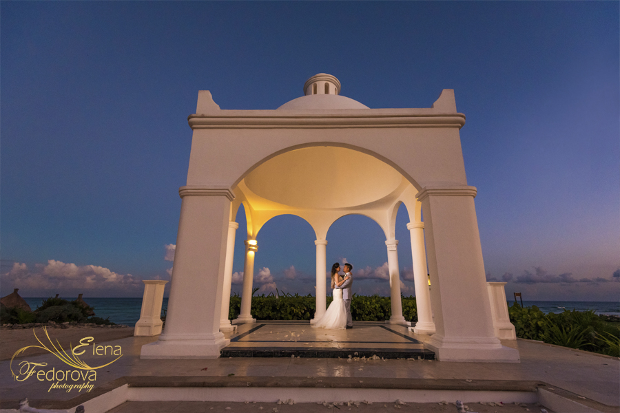 bahia principe mexico weddings photo
