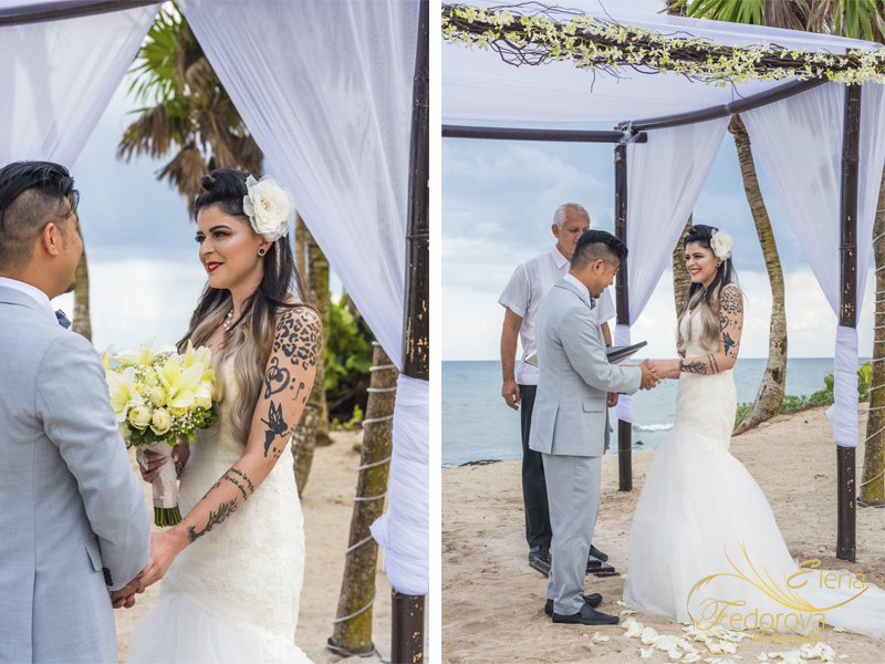 bahia principe mexico weddings photos