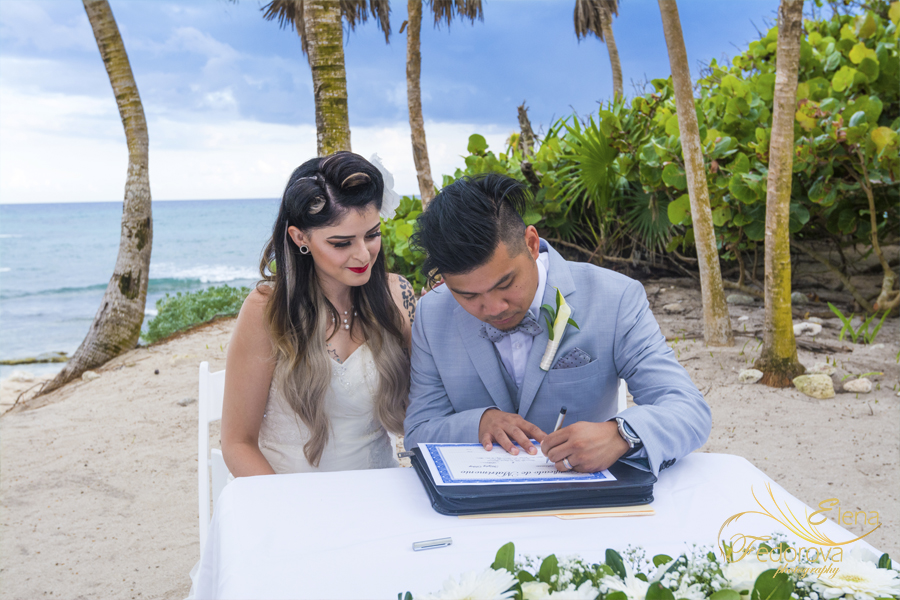 bahia principe mexico weddings