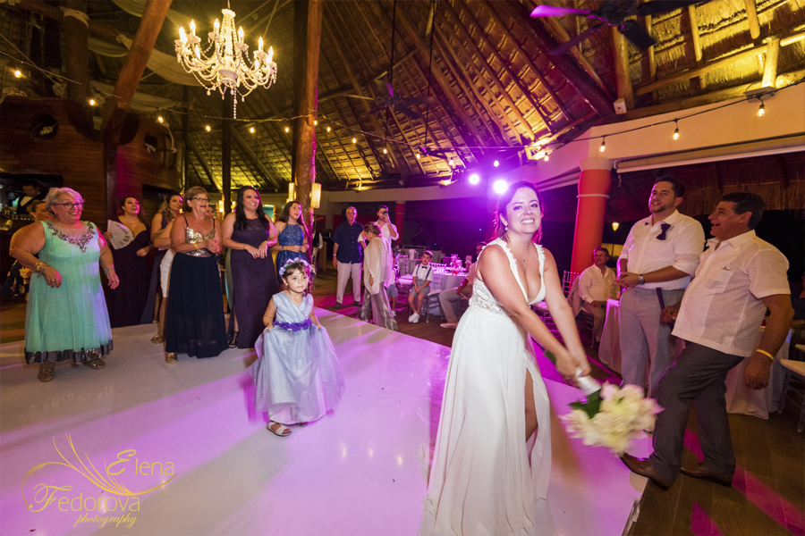barcelo maya beach wedding mexico photographers