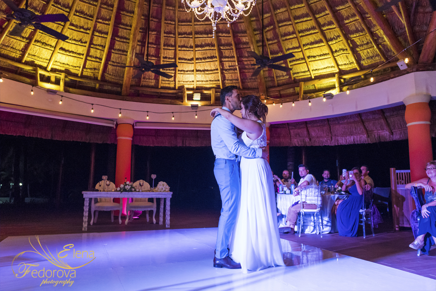 barcelo maya beach wedding mexico reception