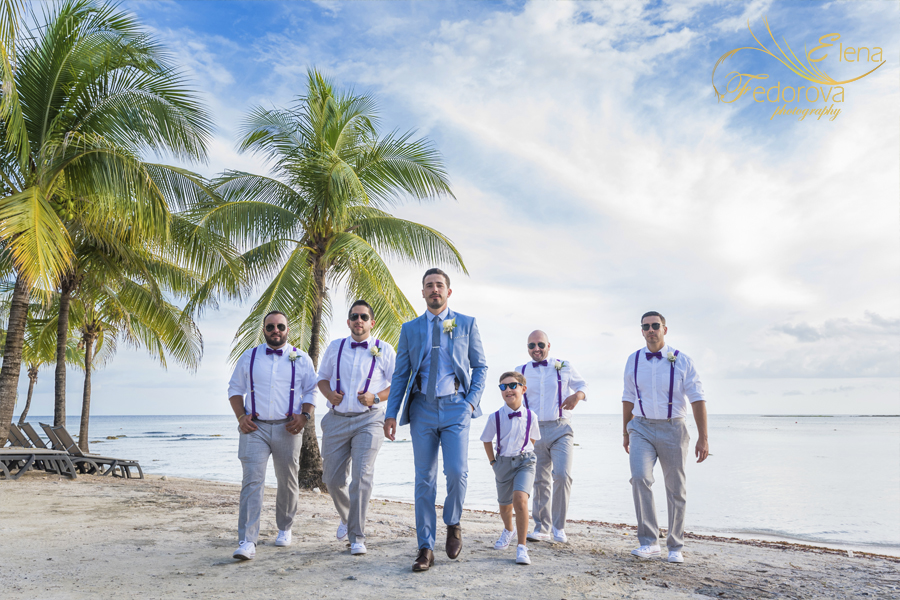 barcelo maya deluxe wedding photos