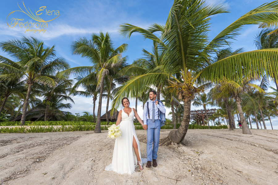 barcelo maya grand wedding beach
