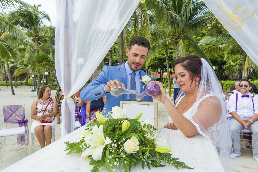 barcelo maya grand wedding photographer