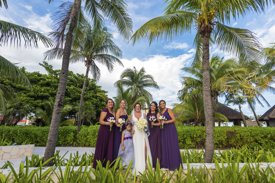 barcelo maya deluxe wedding