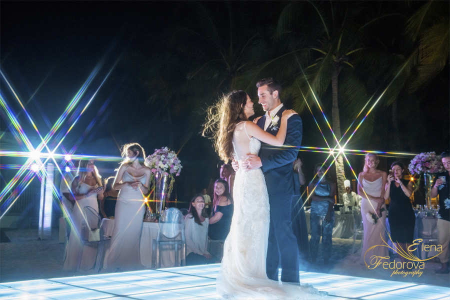 first dance riu palace riviera maya