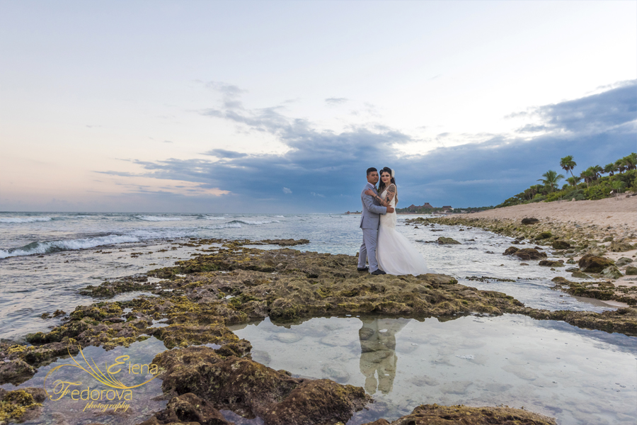 grand bahia principe tulum mexico wedding photographer
