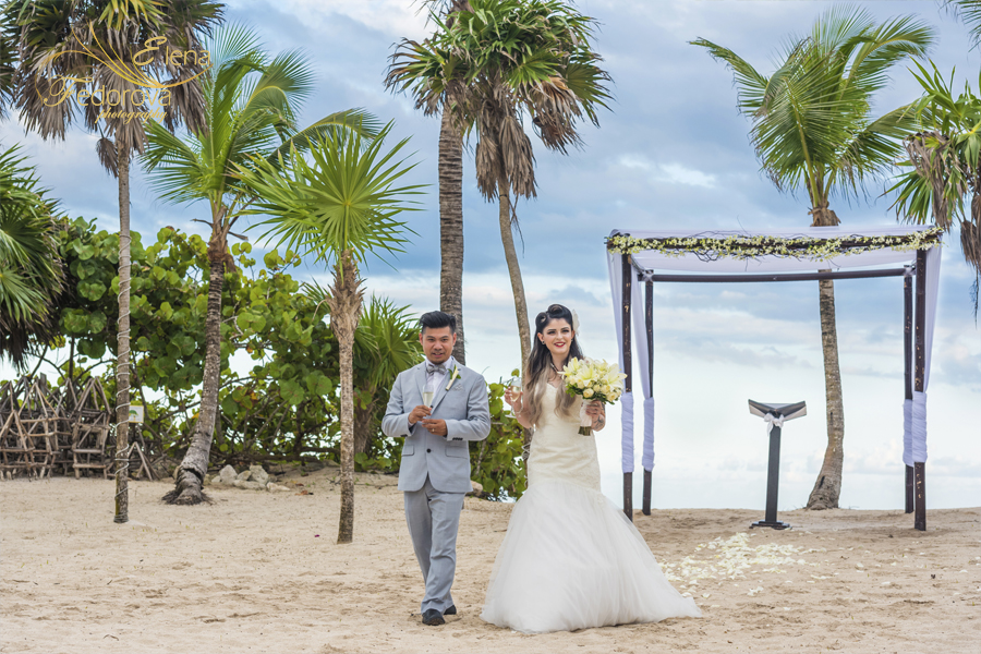 bahia principe tulum wedding photographer