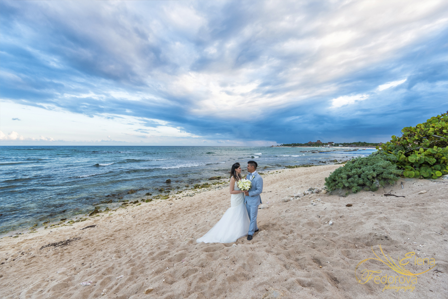 photographer bahia principe mexico weddings
