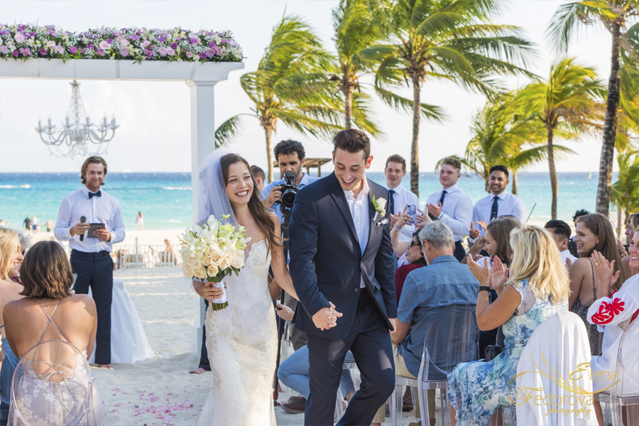 riu palace riviera maya beach weddings