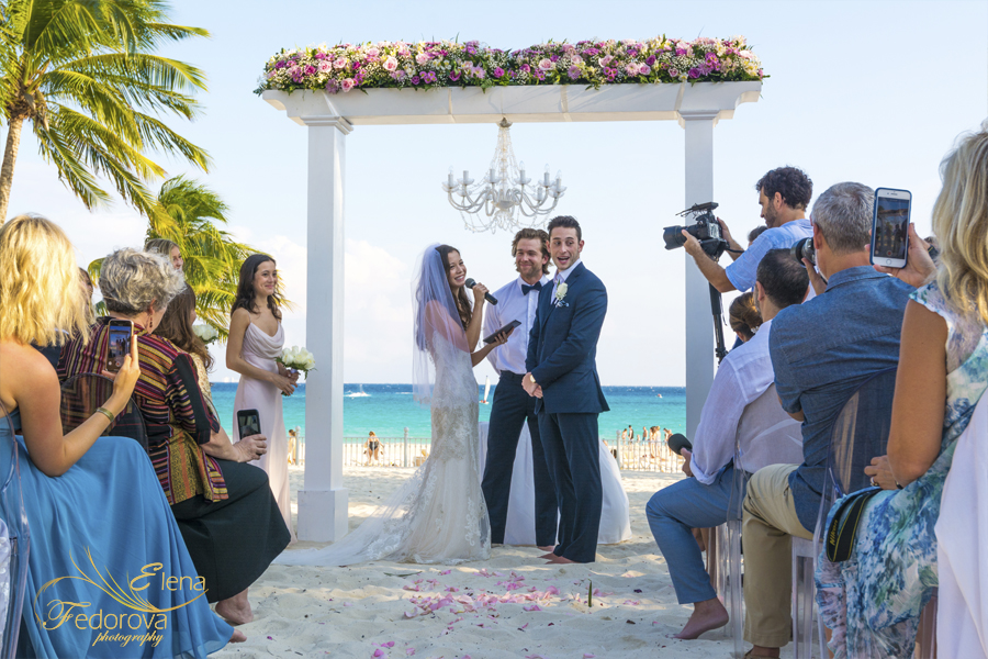 riu palace riviera maya ceremony wedding