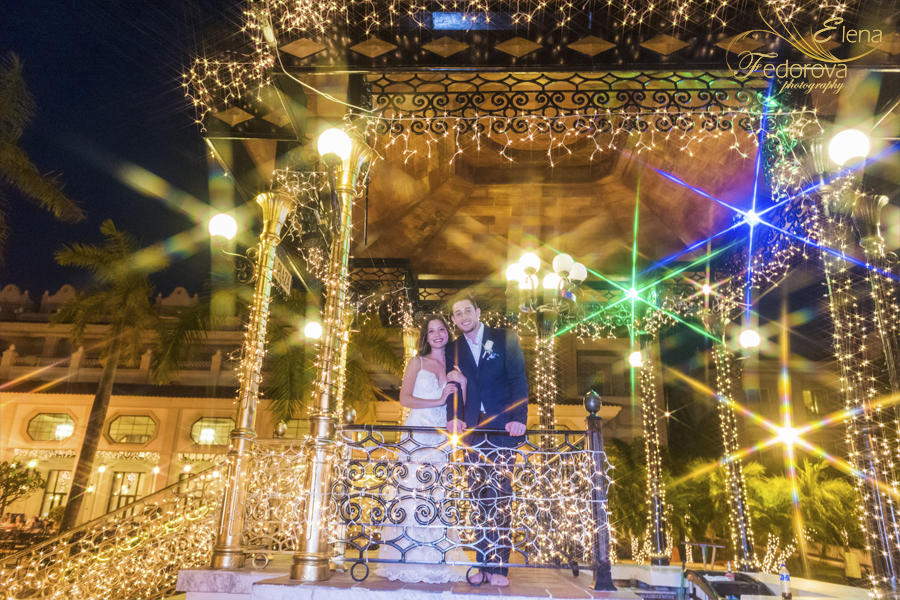 riu palace riviera maya Christmas wedding