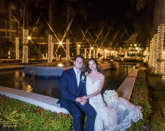 Christmas destination wedding at Riu Palace Riviera Maya.