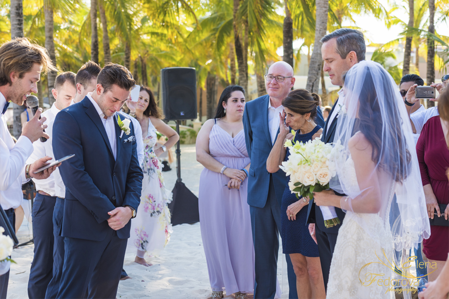 riu palace riviera maya wedding ceremony photo