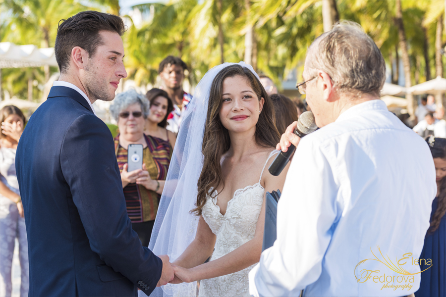 riu palace riviera maya wedding ceremony photographer