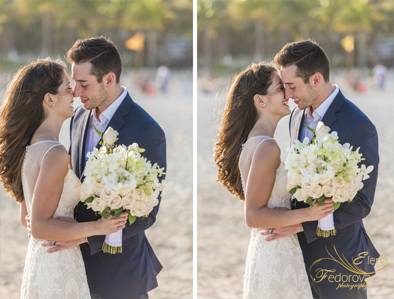 riu palace riviera maya wedding romantic photo