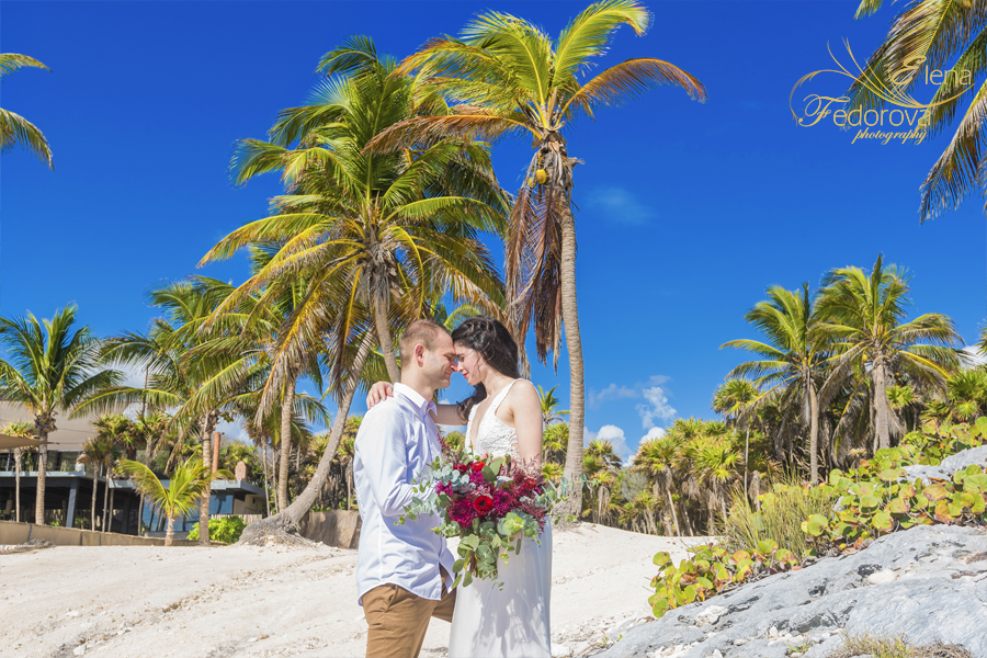 vow renewal in tulum