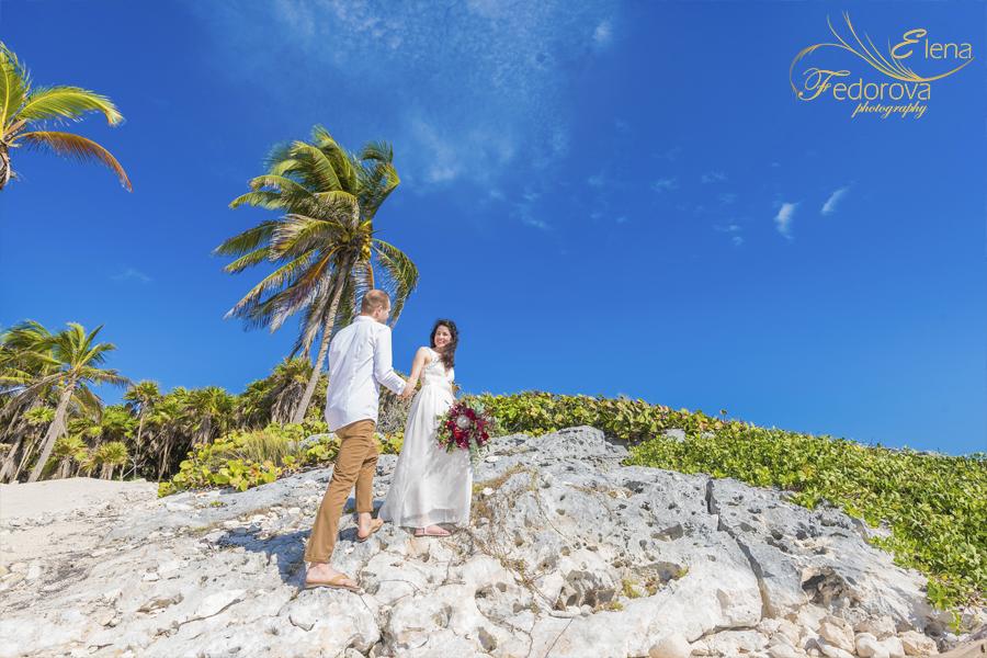 wedding in tulum habitas photo