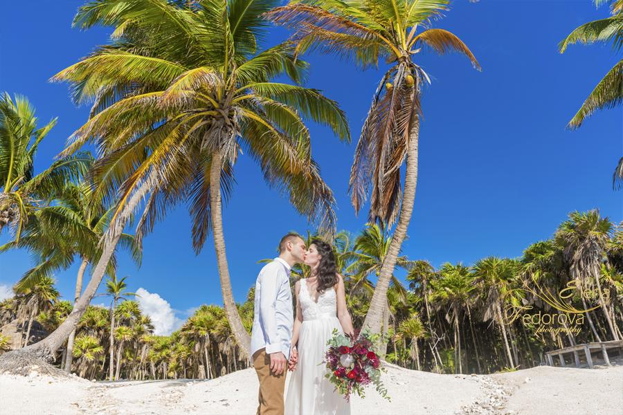 wedding vow renewal tulum mexico