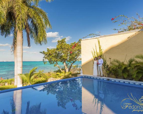 Isla Mujeres photography at hotel La Hoya and Playa Norte.