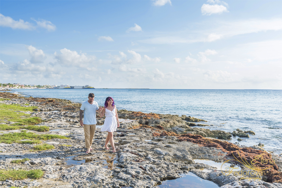 couple photos in Cozumel