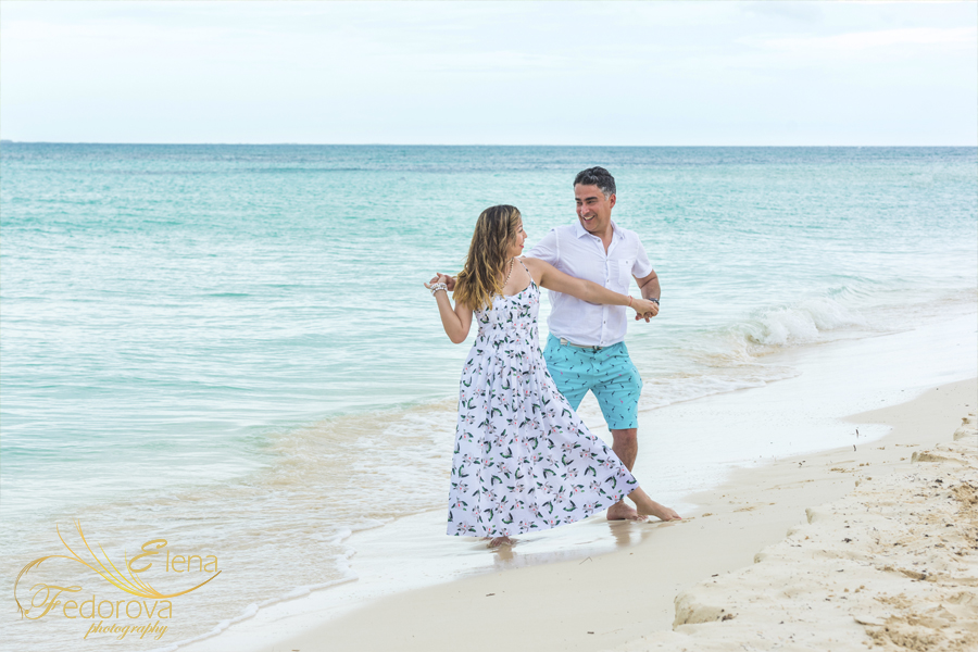 engagement photo session isla mujeres