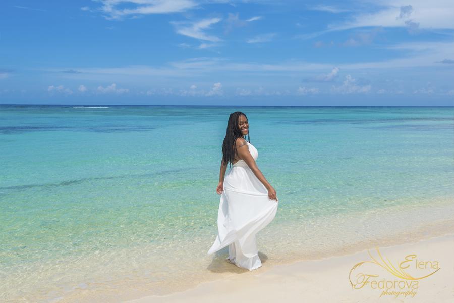 Cozumel photo session beach Palancar