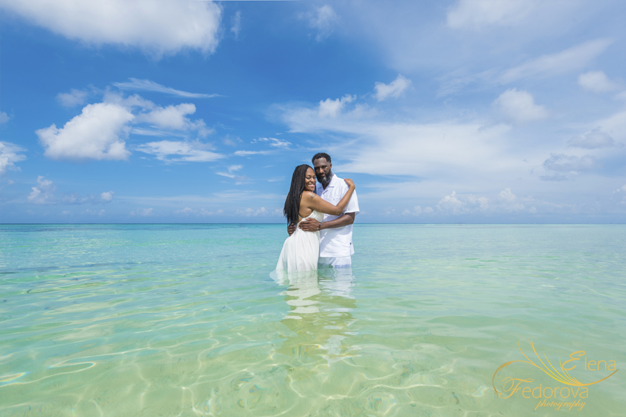 trash the dress in Cozumel
