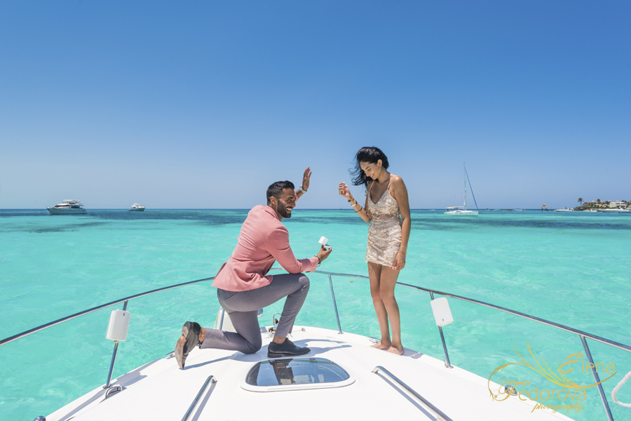 yacht photo shoot proposal