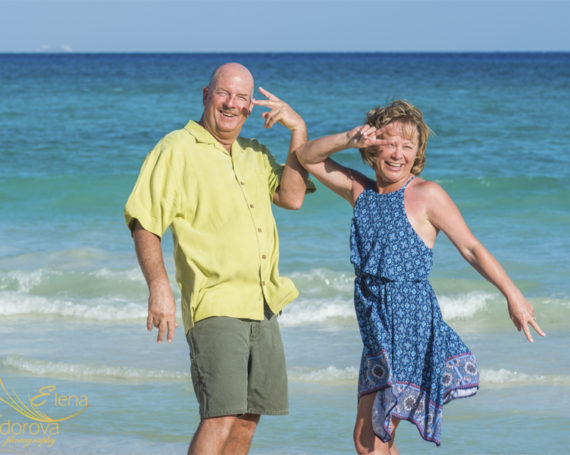 Live. Enjoy. Remember. Cheerful beach photo session.