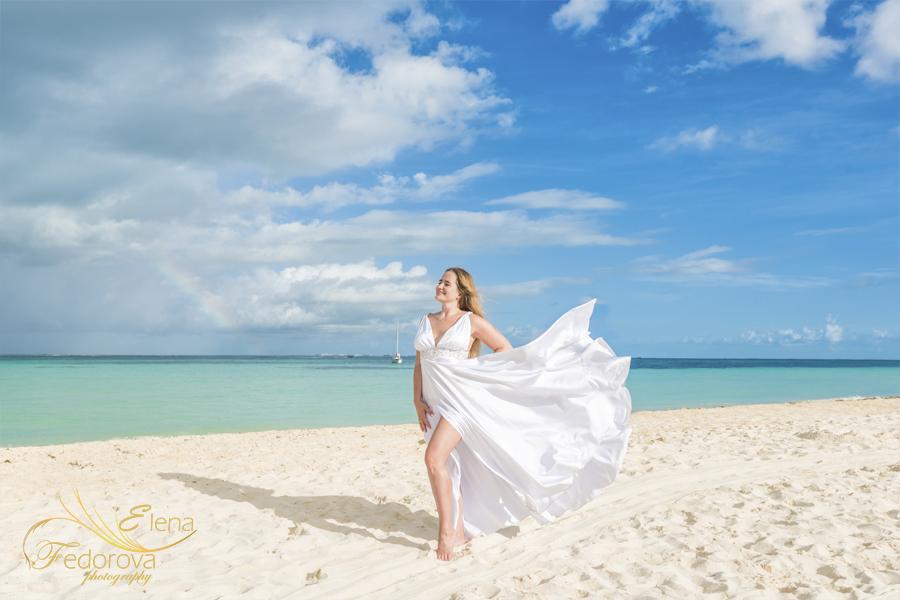 beach glamour photography