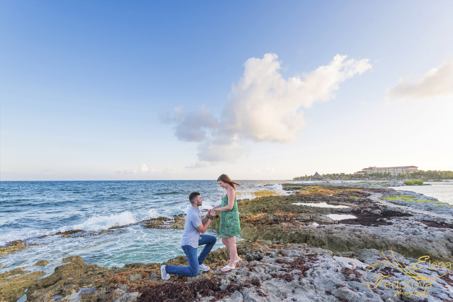 cancun proposal at dreams puerto aventuras