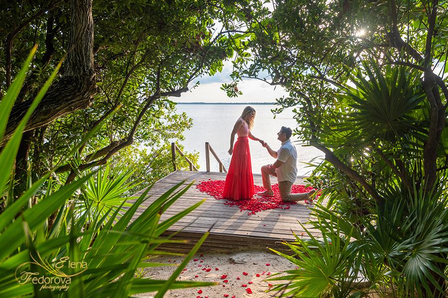 private proposal in nizuc cancun
