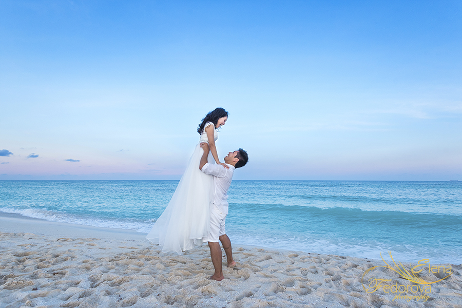 cancun wedding pictures